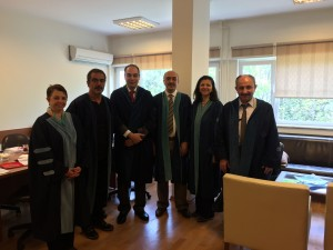 Associate Professor title ceremony at Bogazici University, Apr 29, 2015
