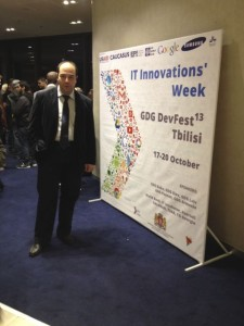 Sadi Evren SEKER has joined georgian innovation week