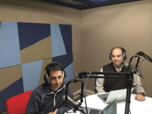 Sadi Evren SEKER is at Radio program