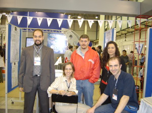 CEBIT 2003 was responsible from the stand of Yeditepe University Department of Computer Science