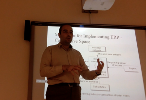ERP Course at Istanbul Medeniyet University, Engineering Management MSc. Program.