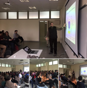 Talk about big data and analytics at Istanbul Technical University (ITU)