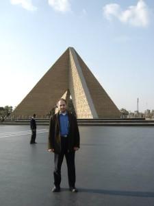 Sadi Evren SEKER at Cairo Egypt