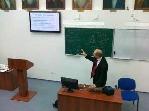 Sadi Evren SEKER at Pavlodar University Kazakhstan