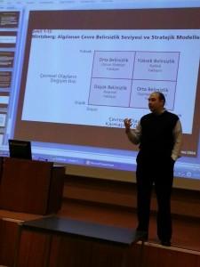 Siyami Ersek Hastanesi, işletmelerde stratejik yönetim dersi, 2014.