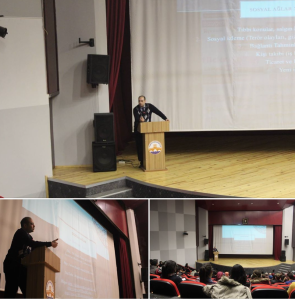 Talk about Social Media: Opportunities and Threats, Trakya University, Edirne, Dec. 2015